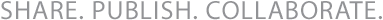Share Publish Collaborate